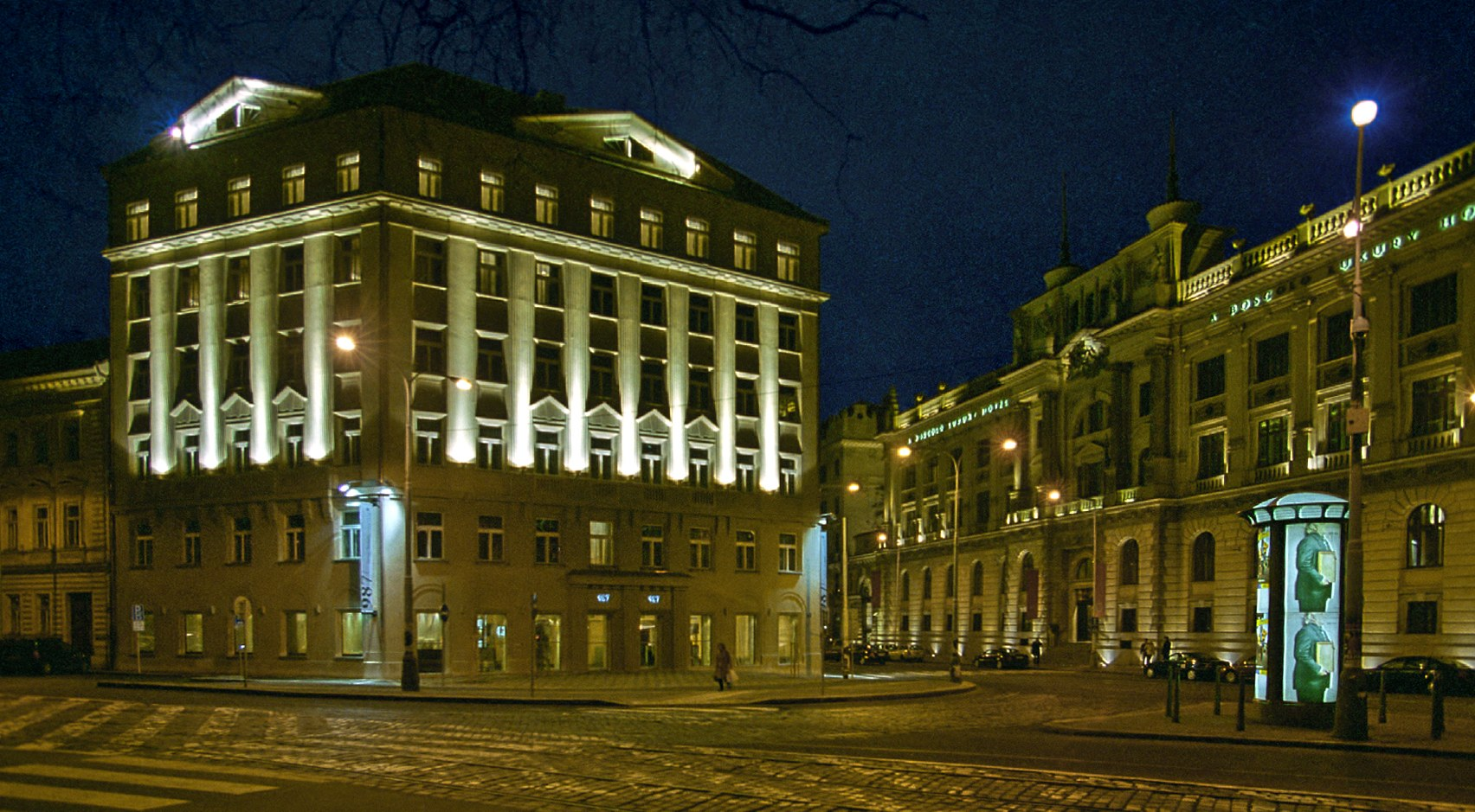 987 design prague hotel hotel near wenceslas square for Design hotel praha